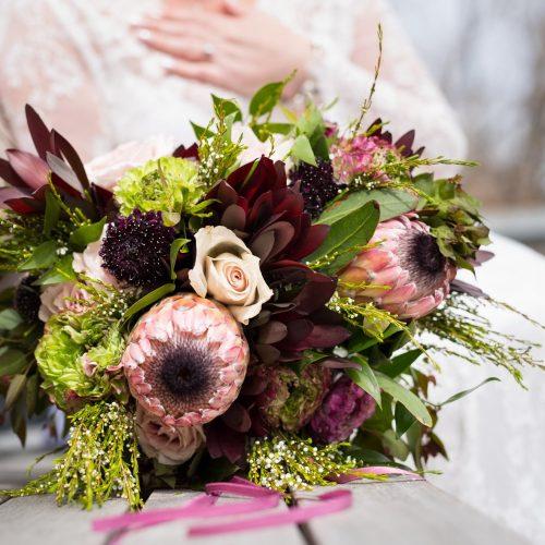 Bouquet mariage par Okaly Fleurs