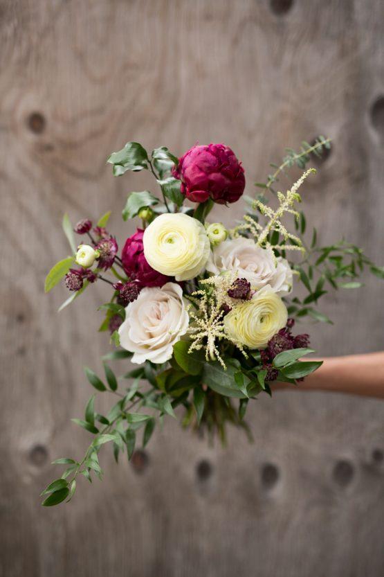 bouquet moyen fleurs