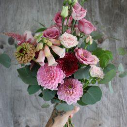 Bouquet rose blush